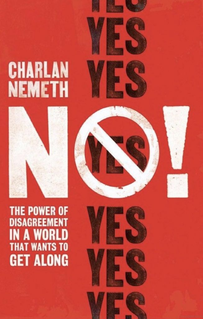 Cover of No!: The Power of Disagreement