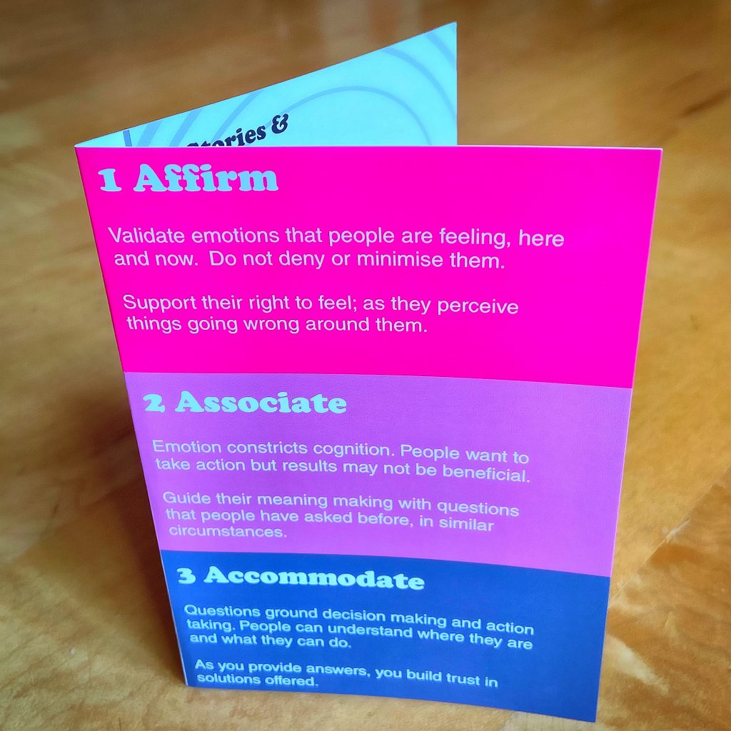 Emotional Design card and three elements of design