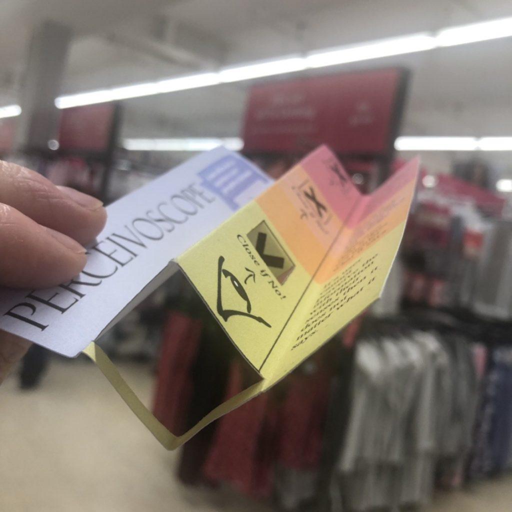 Using perceivoscope in supermarket